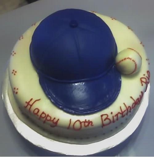 baseballcapbdaycakea