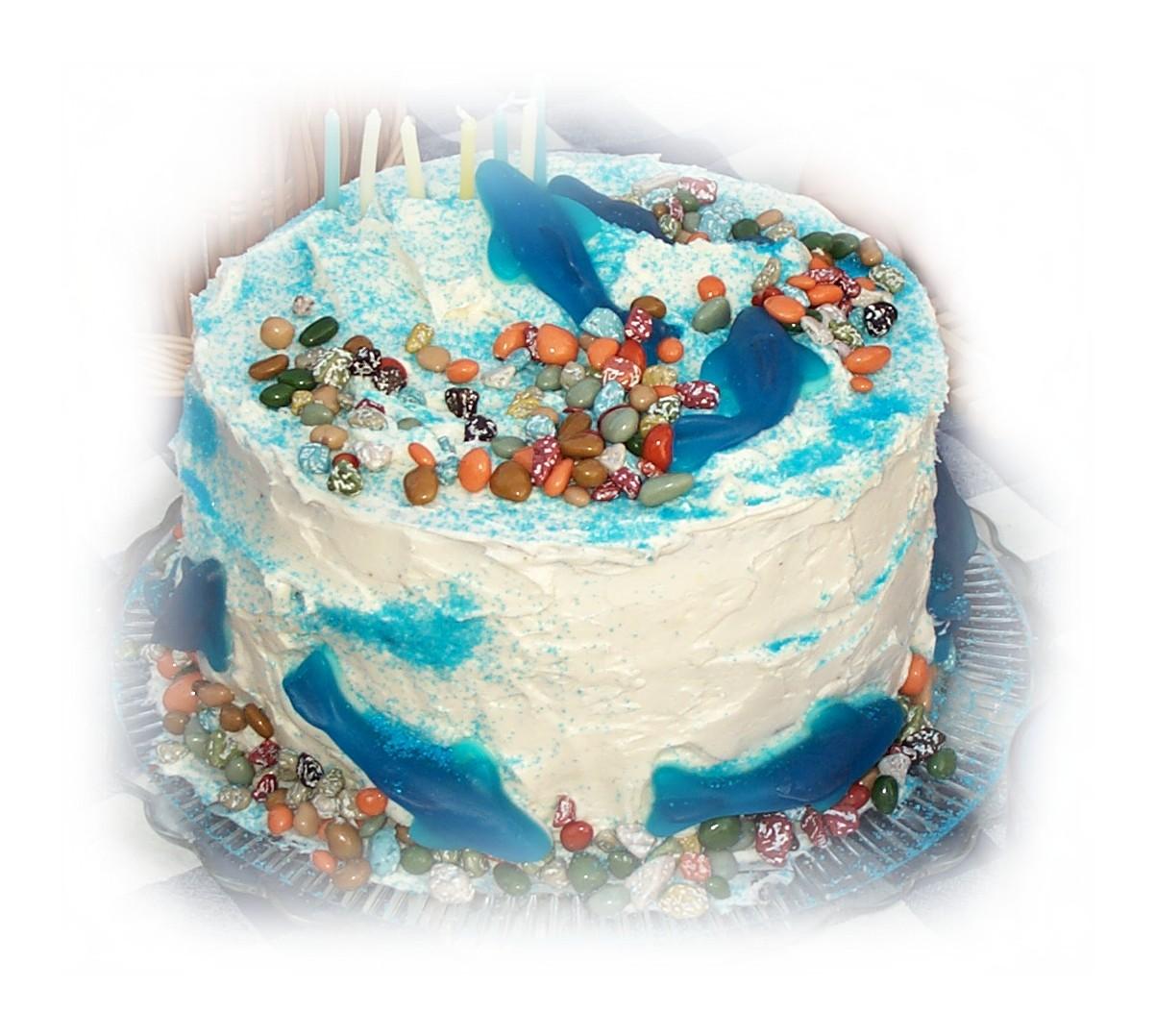fishycelebrationbirthdaycake